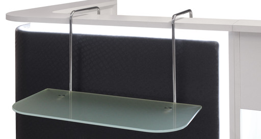 Reception Desk Accessory: Shelf ACC/085 - Salon Ambience