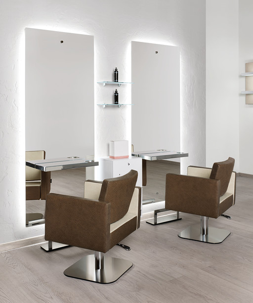 Hairdressing chair: Square - Salon Ambience