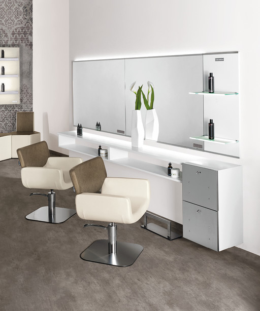 Hairdressing chair: Quadro - Salon Ambience