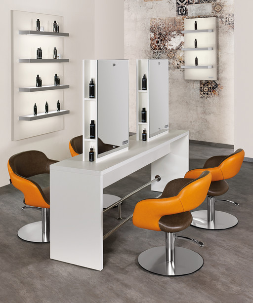 Hairdressing chair: Vanessa - Salon Ambience