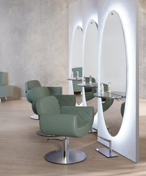 Hairdressing chair: Naomi+ - Salon Ambience
