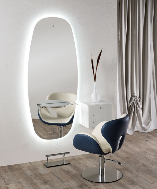 Hairdressing mirror: Cosmos - Salon Ambience