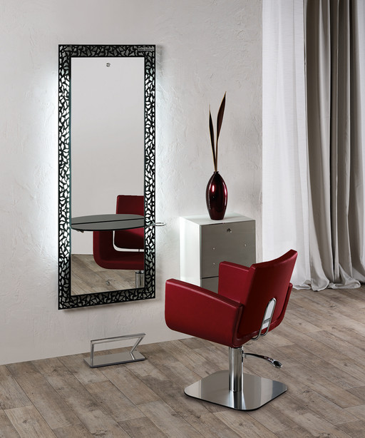 Hairdressing mirror: Fiji - Salon Ambience