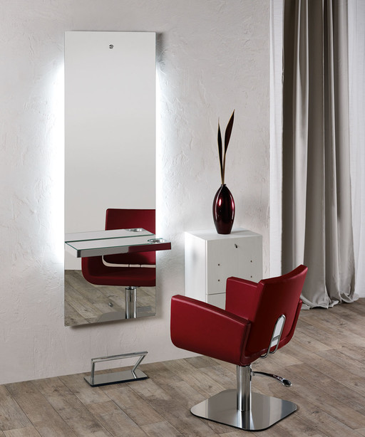 Hairdressing mirror: Lunar - Salon Ambience