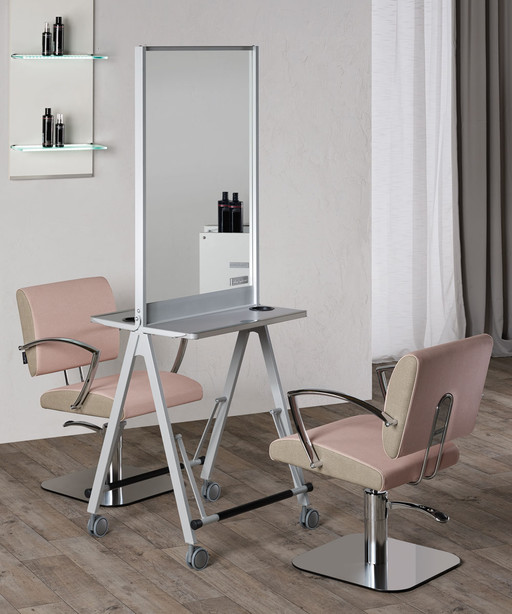 Hairdressing mirror: Scuola - Salon Ambience