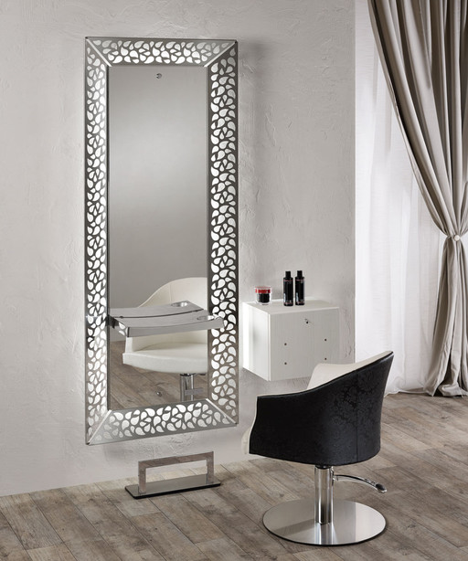 Hairdressing mirror: Treasure - Salon Ambience
