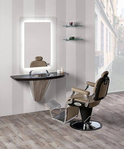 Barber station per parrucchieri: Cliff - Salon Ambience